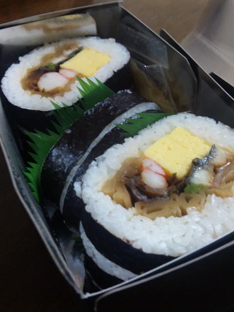 すし甚の上巻き寿司