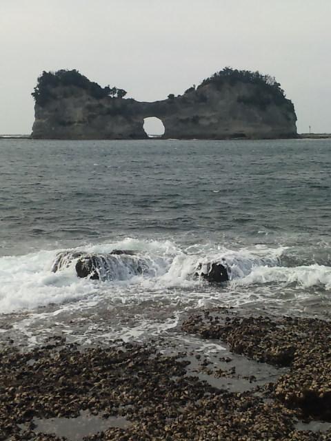 円月島と千畳敷