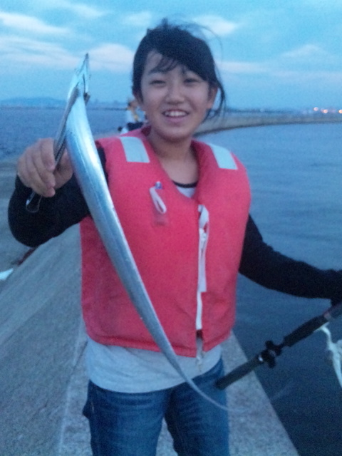 太刀魚ゲット